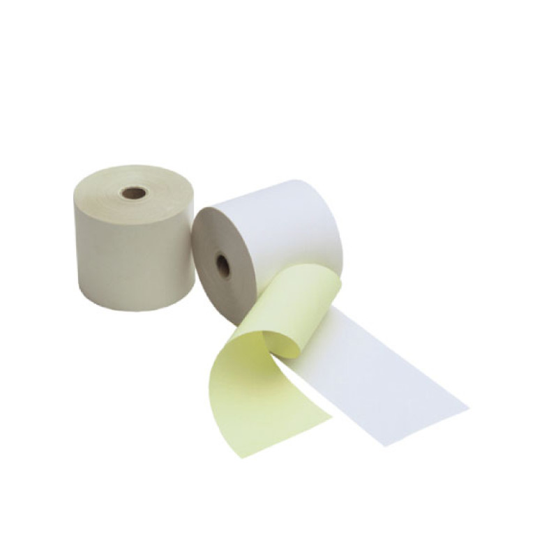 Duplorollen wit/geel 57x70x12mm - 50 rl/ds
