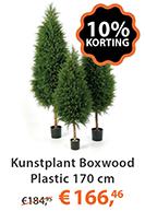 Kunstplant Boxwood Plastic 170 cm